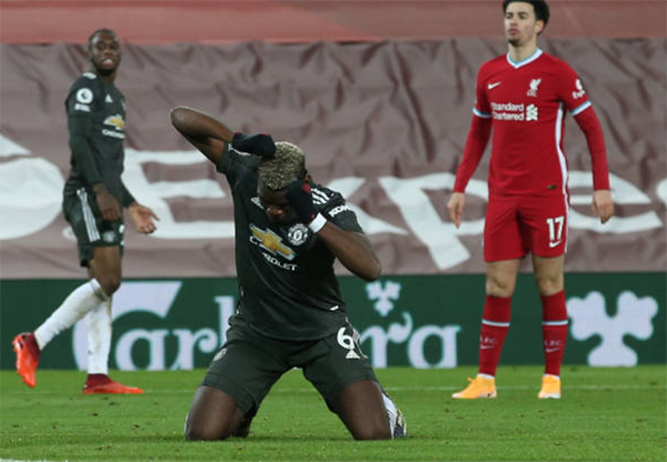 Paul Pogba apologised to Manchester United squad for missing gilt-edged chance in Liverpool draw    - Bóng Đá