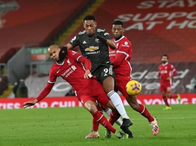 Against Liverpool, Man Utd'd back line won 27 from 33 defensive duels (81.8%) - Bóng Đá
