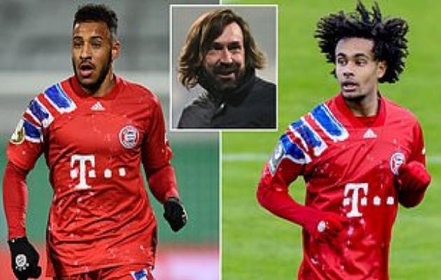 Juventus 'target double swoop for Bayern Munich pair Corentin Tolisso and Joshua Zirkzee' - Bóng Đá