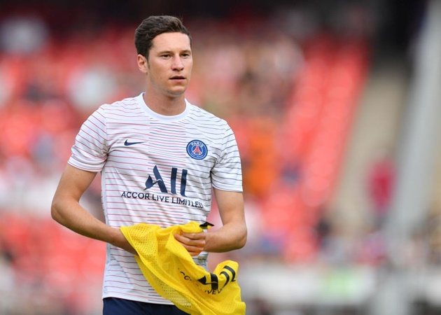 PSG willing to incude Draxler in offer for Arsenal midfielder Guendouzi - Bóng Đá