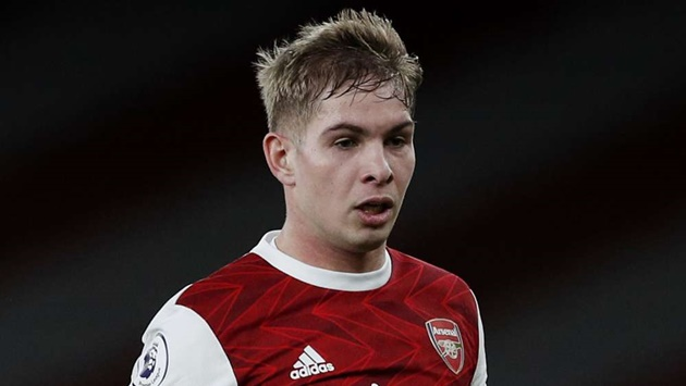 Arteta on Smith Rowe - Bóng Đá