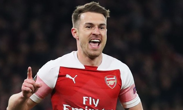 Tottenham 'following' Aaron Ramsey situation at Juventus with Italians willing to cash in - Bóng Đá
