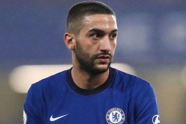 Ziyech 'considering Chelsea future' because of Tuchel - Bóng Đá