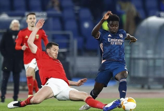 Gabriel magalhaes vs Benfica  - Bóng Đá