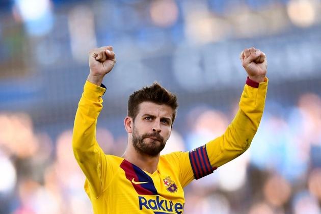 Barcelona coach Koeman insists no problems between Pique and Griezmann after on-field clash - Bóng Đá