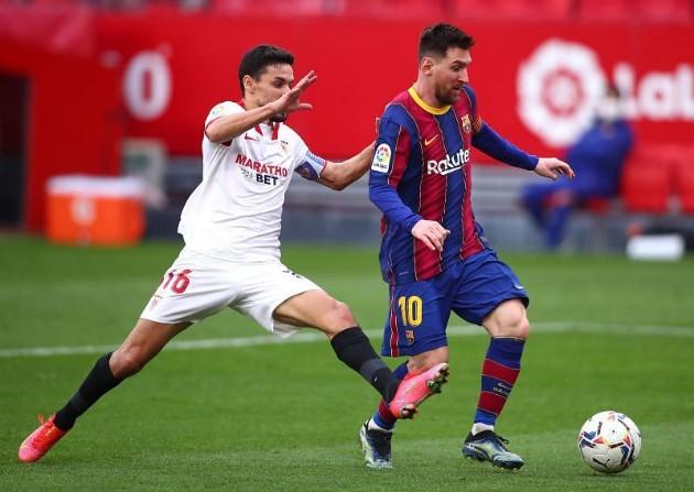 Lionel Messi's game by numbers vs. Sevilla - Bóng Đá