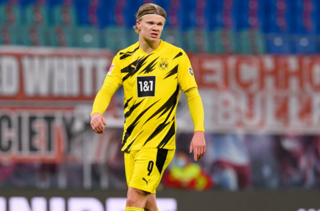 Borussia Dortmund striker Haaland has 6 club shortlist he wishes to talk terms - Bóng Đá