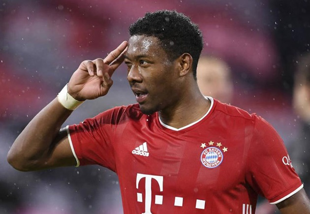 David Alaba's agent insists reports the defender has agreed to join Barcelona are 'not true'. - Bóng Đá