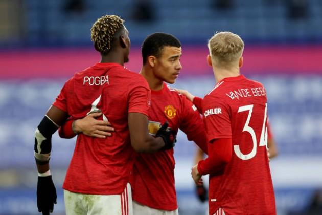 TRỰC TIẾP Leicester 1-1 Man Utd: Greenwood