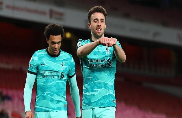 Salah, Jota, Arnold records vs Arsenal  - Bóng Đá