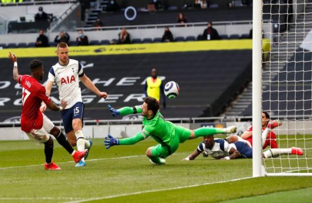 TRỰC TIẾP Tottenham 1-1 Man United: Fred quân bình tỷ số! (H2) - Bóng Đá