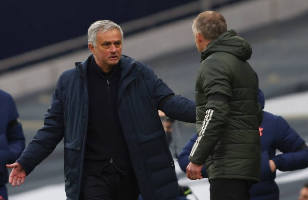"""Nc247info tổng hợp: Jose Mourinho: Tôi đã thấy Spurs đưa bóng vào trong khung thành"""""""