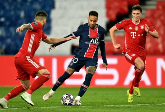Neymar'stats vs Bayern Munich  - Bóng Đá