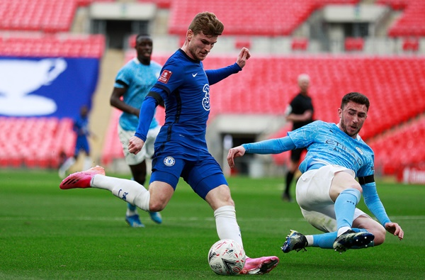 Chelsea striker Werner proud of winning assist for FA Cup semi triumph: Two best teams in England faced off - Bóng Đá
