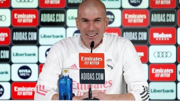 Real Madrid coach Zidane: I'm sure fans proud of this team - Bóng Đá