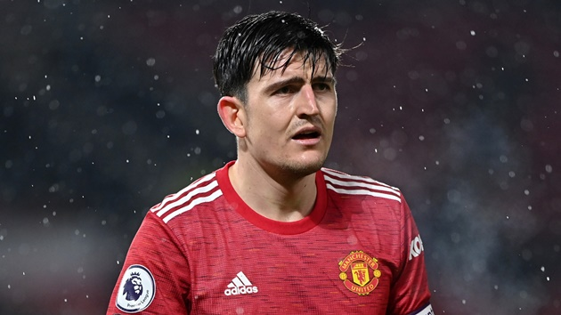 Manchester United manager Ole Gunnar Solskjaer has admitted he is unlikely to be able to play Harry Maguire in all of the upcoming fixtures. - Bóng Đá