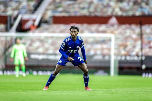 Wilfred Ndidi for Leicester vs. Man Utd:  - Bóng Đá