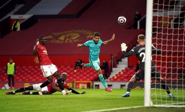 Trent Alexander-Arnold's game by numbers vs. Man Utd:  - Bóng Đá