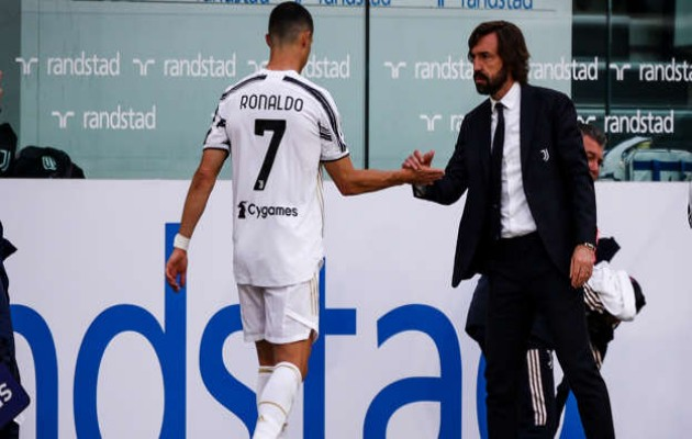 Ronaldo was happy to be substituted, insists Juve boss Pirlo - Bóng Đá