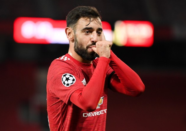 Bruno Fernandes is the first Manchester United player to have 30+ goal involvements in a Premier League season since Robin van Persie in 2012/13 - Bóng Đá