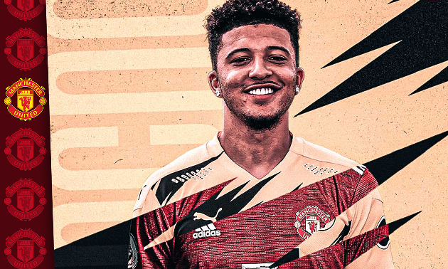 Jadon Sancho's Man Utd wages just half of what England winger was expected to earn - Bóng Đá