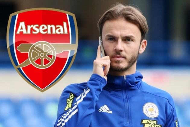 Leicester City have shown no interest in any of the players Arsenal have offered in the proposed player plus cash deal for James Maddison. - Bóng Đá