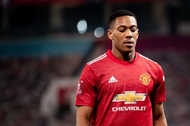 Inter Want To Sign Man Utd's Anthony Martial In Deal Worth €40M, Italian Media Report - Bóng Đá
