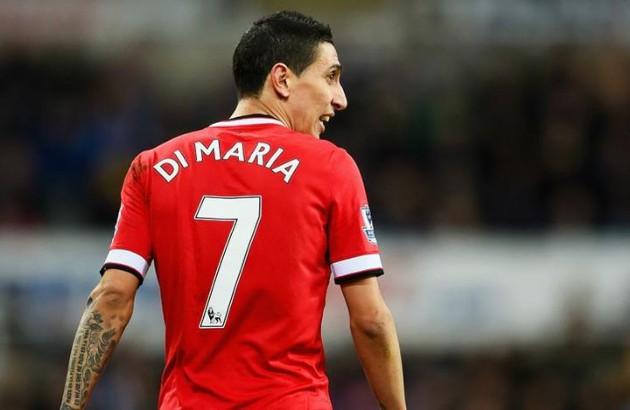 PSG ace Di Maria talks Man Utd No7, LVG, Ronaldo and Mourinho: I didn't give a f*** - Bóng Đá