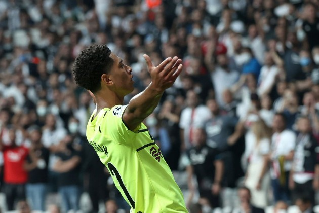Jude Bellingham's game by numbers vs. Beşiktaş - Bóng Đá