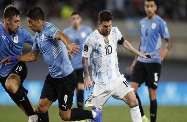 Nc247info tổng hợp: Suarez vô duyên, Uruguay bị Messi và đồng đội hủy diệt