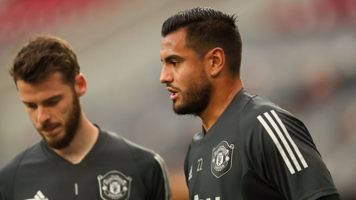 Sergio Romero opens up on his 'strange' final year at Man United - revealing he was sometimes forced to train ALONE after  - Bóng Đá