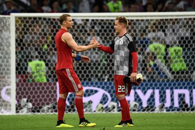Manuel Neuer responds to Marc-André ter Stegen's griping - Bóng Đá