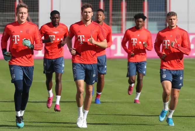 Goreztka and Alaba among the returning players for Bayern Munich training - Bóng Đá