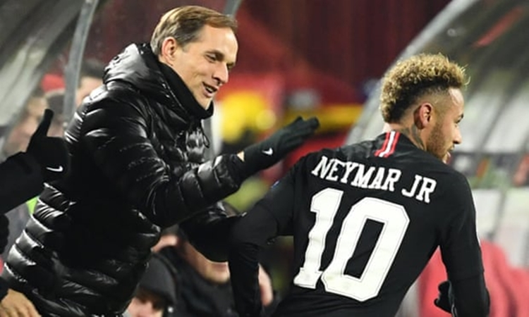 Thomas Tuchel: 'I told Neymar to face truth and deal with consequences - Bóng Đá