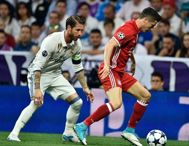 'I was always happy to compete with him' - Lewandowski names Ramos - Bóng Đá