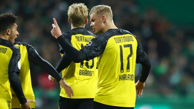 Erling Haaland Scores 8th Goal in 4 Games for Borussia Dortmund - Bóng Đá
