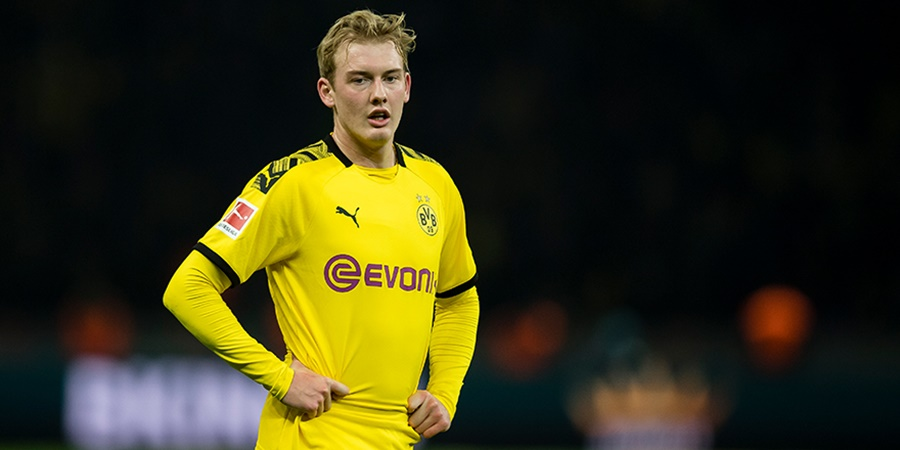 Borussia Dortmund suffer Julian Brandt injury blow - Bóng Đá