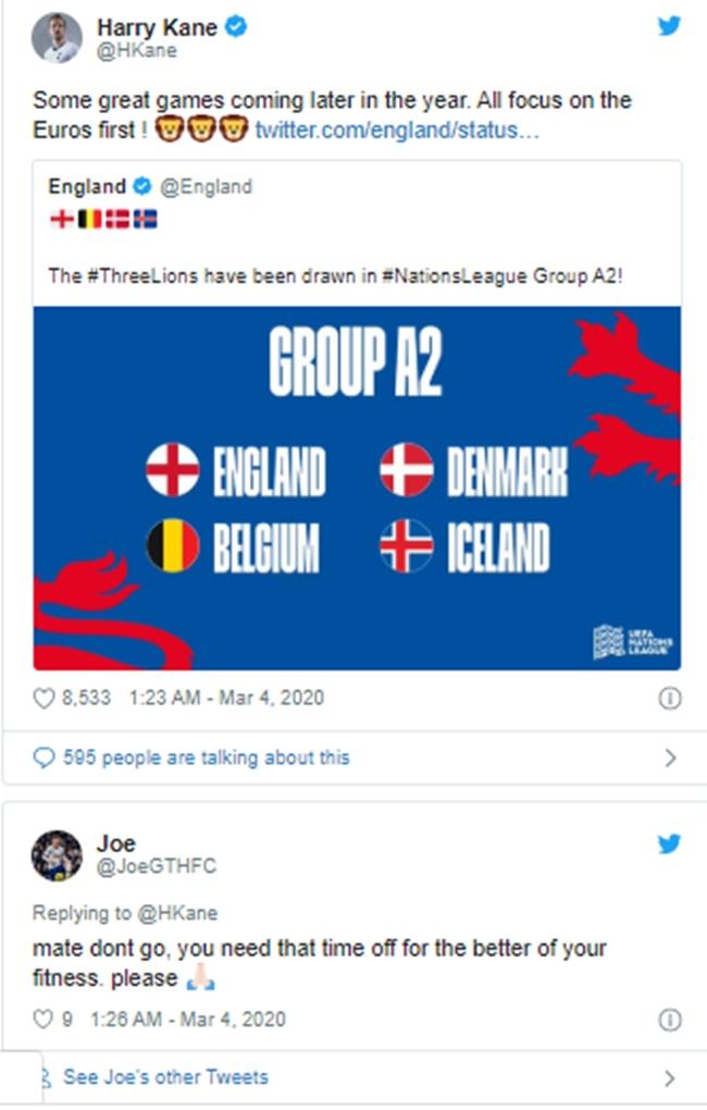 NHM Tottenham ích kỷ, kêu gọi Kane bỏ EURO 2020 - Bóng Đá