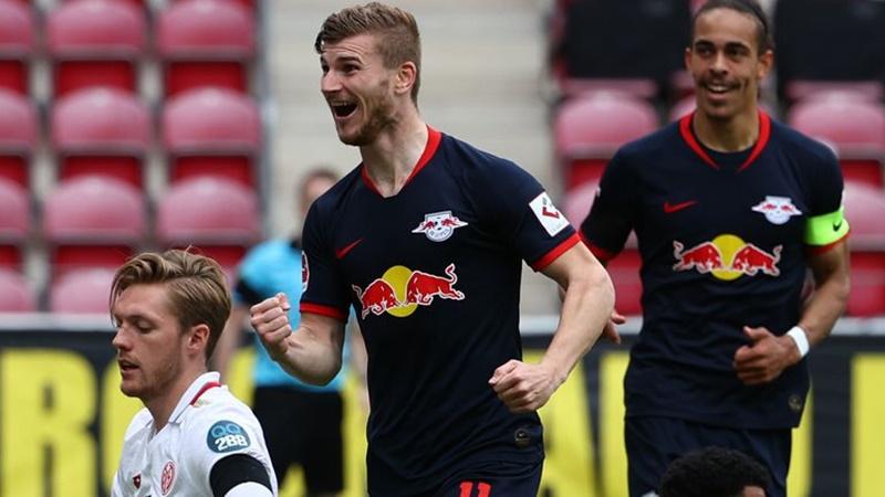 Mainz hài hước phản ứng về hat-trick của Werner - Bóng Đá