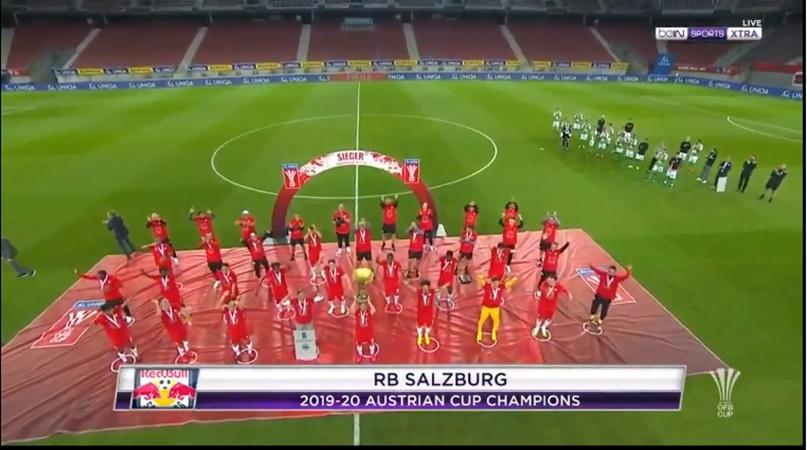 Salzburg nâng cúp thời COVID-19 - Bóng Đá