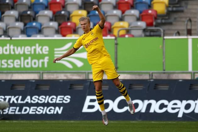 NHM Dortmund react Haaland's goal - Bóng Đá