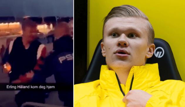 Erling Haaland asked to leave nightclub because Borussia Dortmund star was too popular - Bóng Đá