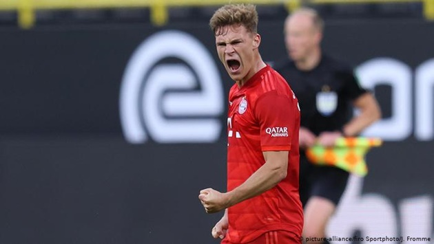 Hansi Flick is planning with Joshua Kimmich as replacement for the injured Benjamin Pavard - Bóng Đá