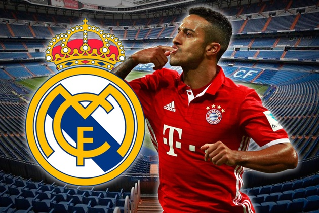 Real Madrid were offered the chance to sign Thiago for €30-35m by an intermediary a few days ago, but the Spanish club rejected it - Bóng Đá
