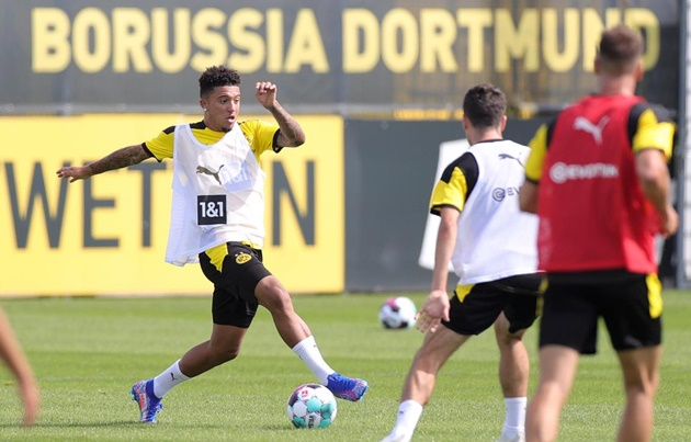 Jude Bellingham trains with Jadon Sancho and Erling Haaland - Bóng Đá