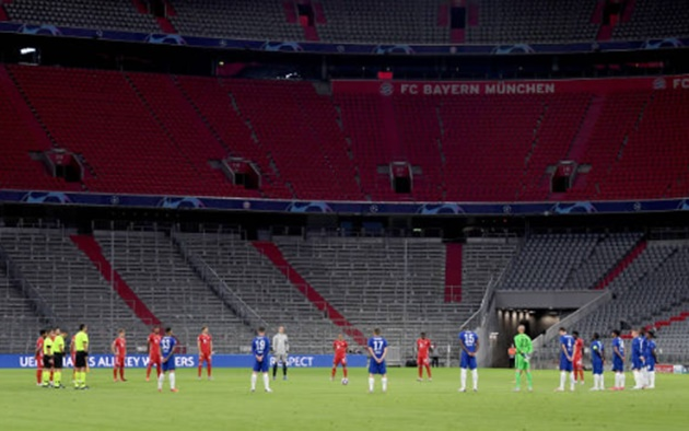 Ảnh sau trận Bayern vs Chelsea - Bóng Đá