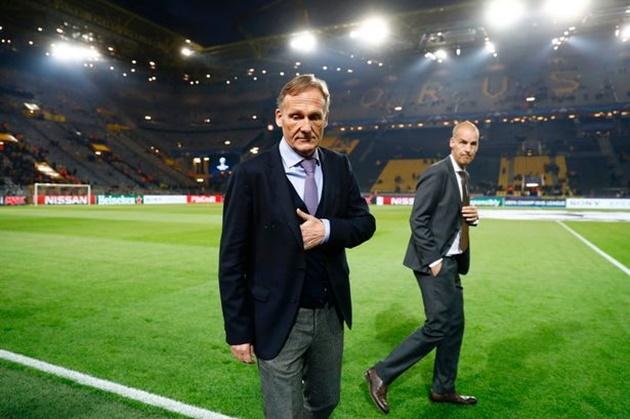 Hans Joachim Watzke: No money left for new signings at Borussia Dortmund - Bóng Đá