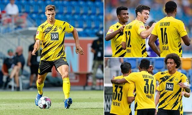 Jadon Sancho, Gio Reyna lead the way as Borussia Dortmund score ELEVEN past Austria Wien - Bóng Đá