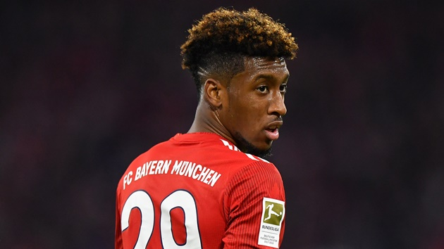 Bayern announce that Kingsley Coman is currently in self isolation - Bóng Đá