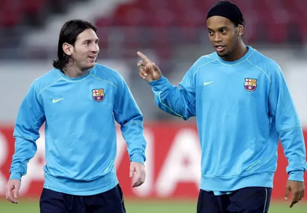Ronaldinho Names Three Players Who Could Be Seen As Better Players Than Lionel Messi - Bóng Đá